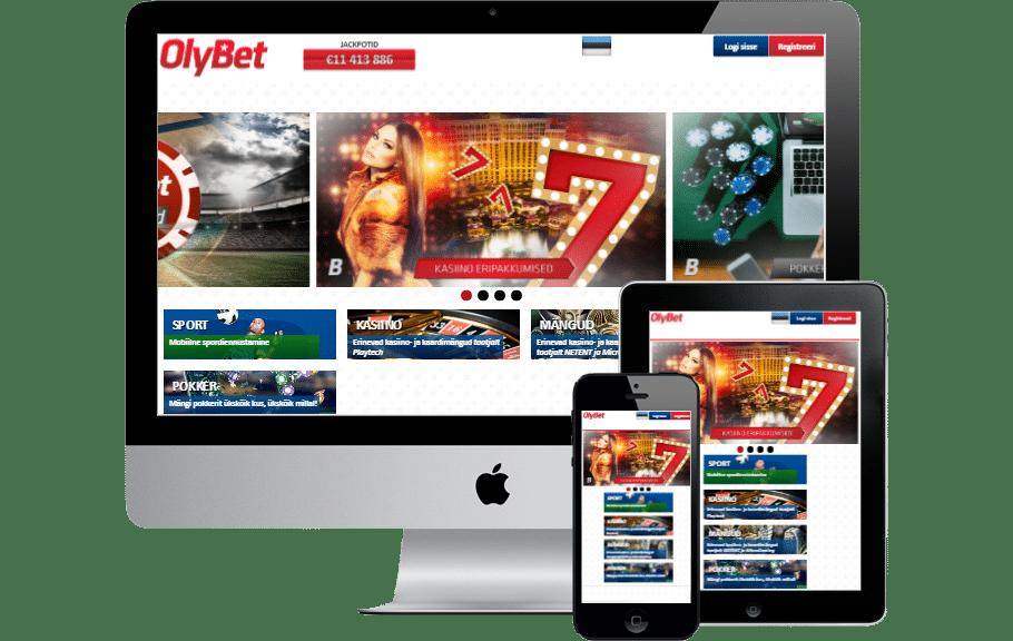 OlyBet mobiilis mobiilikasiino