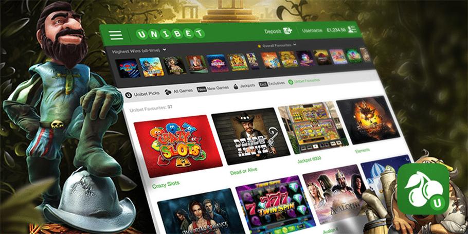 Unibet kasiino pakub esimesel sissemaksel kuni €100 boonust ja 5 tasuta spinnid mängus Starburst.