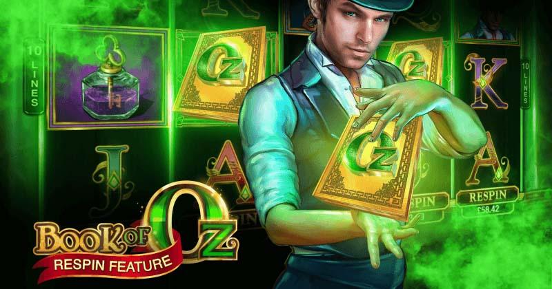 Kingswin boonuskood WEALTH1 annab 20 tasuta spinni mängus Book of Oz
