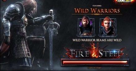 Kolmapäeviti Kingswin kasiinos kuni 125 tasuta spinni mängus Fire & Steel