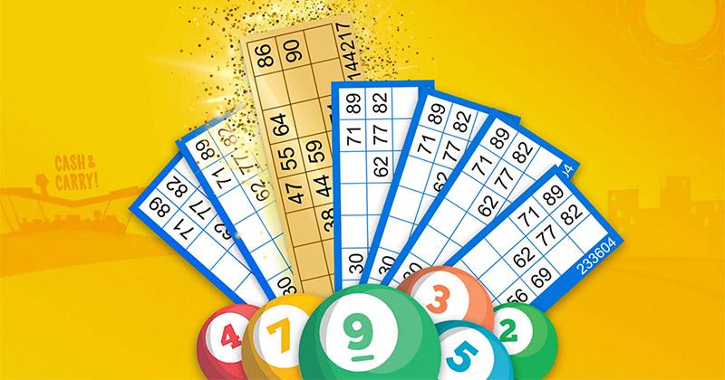Paf Bingos kuldsed bingopiletid, mis kahekordistavad reavõidu