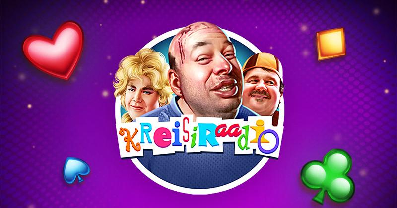 Paf'i Kreisiraadio Online Slot - Liitumisel Paf kasiino 25 tasuta spinni kasiinomängus Kreisiraadio ja €10 boonus