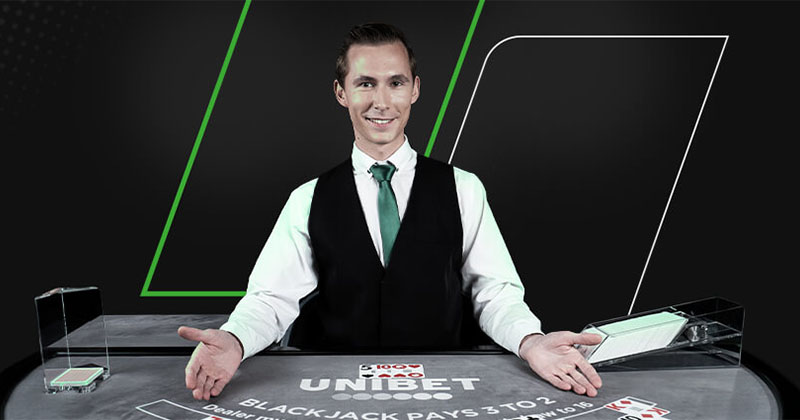 Unibet'i live-kasiino esimese nädala turniir – auhinnafondis €25 000