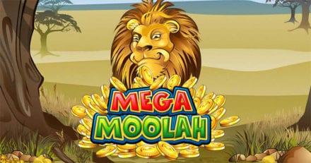 Mängi Mega Moolah jackpoti mänge ja saa 20% tagasi