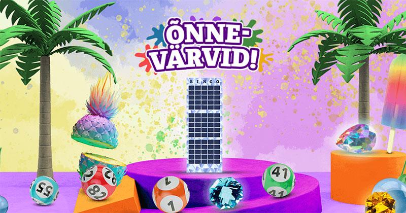 Kolmekordista oma bingo võit Paf bingo teemantpiletiga