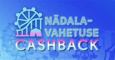 Olybeti nädalavahetuse Cashback'i kampaania – saa tagasi kuni 40 eurot