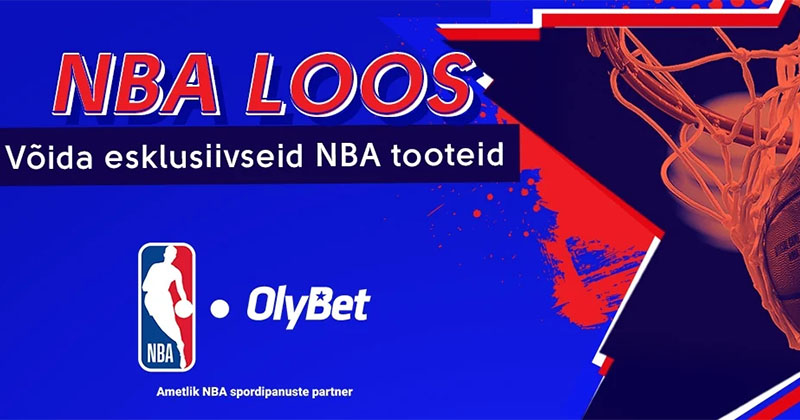 Olybeti NBA kampaania – auhinnafondis erinevad fännitooted