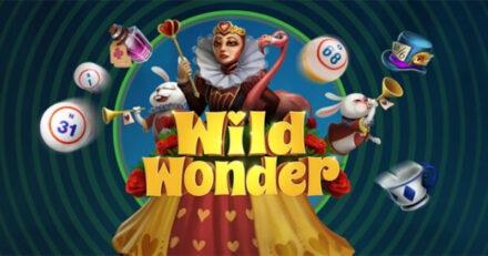 Unibetis 10 kuni 50 pärisraha keerutust mängus Wild Wonder