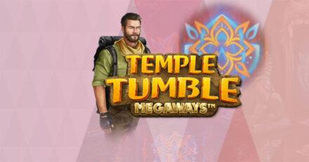 Teeni Maria Casinos kuni 25 tasuta keerutust mängus Temple Tumble Megaways.