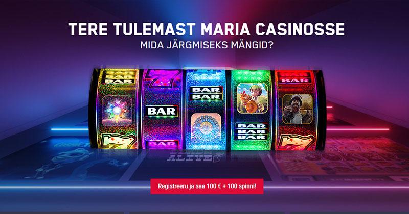 Superkasiino on saadaval ka Unibeti tütarkasiinos Maria Casino. Maria Superkasiino slotimänge saab samuti proovida nii tasuta kui ka soovi korral 100% kuni €100 boonuse ja 100 tasuta spinniga. Tutvumise ava Maria ja leia kasiino sektsioonist Superkasiino.