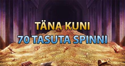 Võta Ninja Casinos iga päev 70 tasuta keerutust