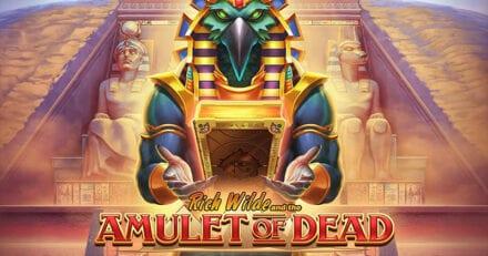 UUS MÄNG | Proovi uut Amulet of Dead slotimängu tasuta