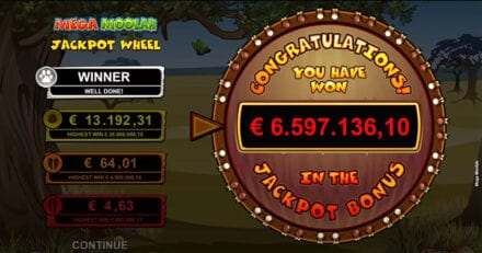 Eestlane võitis 6.5 miljonit suuruse Mega Moolah jackpoti
