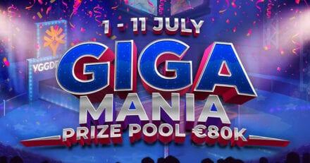 Võida kuni €10 000 suurune Cash Drops, kokku jagatakse ära €80 000